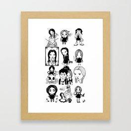 Every Wednesday Framed Art Print
