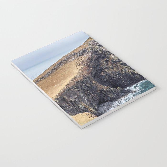 Lighthouse rock ocean Notebook
