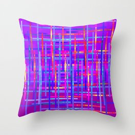Bright Threads Amethyst Jewel Tones Throw Pillow