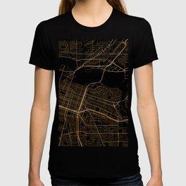 Sacramento map, California T-shirt