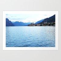 Lake Garda Sunset Art Print