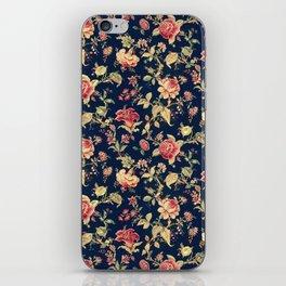 Shabby Floral Print iPhone Skin