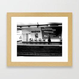 Words 5 Framed Art Print