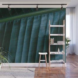 Botanical photography print | Dark green tropical leaf of a palm | Jungle Wanderlust art Wall Mural