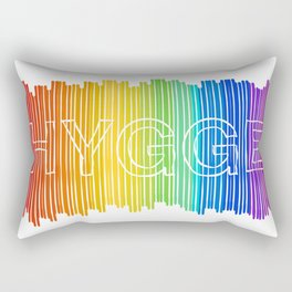 Hygge for All Rectangular Pillow