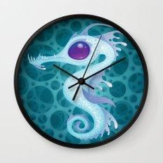Sea Dragon Wall Clock