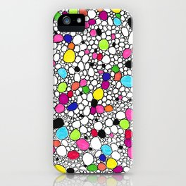 Circles and Other Shapes and colors iPhone Case