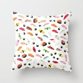 Sushi - Shiro Throw Pillow