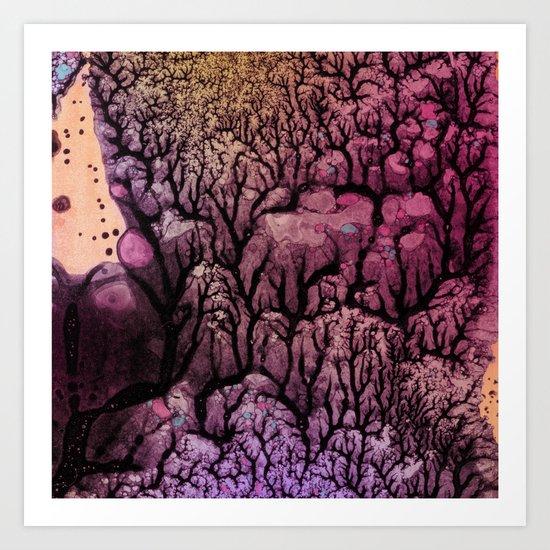 Square Stem Art Print
