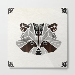 raccoon! Metal Print