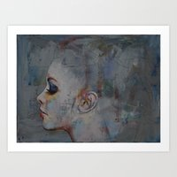 ballerina Art Prints featuring Ballerina by Michael Creese