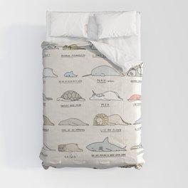 Moody Animals batch 2 Comforters