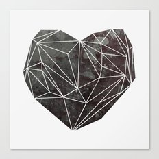 Heart Graphic 4 Canvas Print
