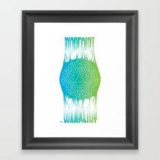 WARPAINT 2014 Framed Art Print