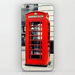 British Telephone Booth iPhone Skin