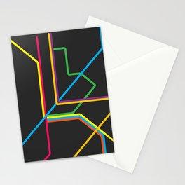 kuala lumpur metro map Stationery Cards