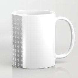 White Circles Coffee Mug