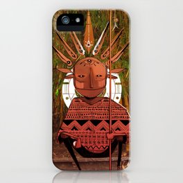 Chamán iPhone Case