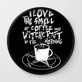 Dark Coffee Lover Wall Clock