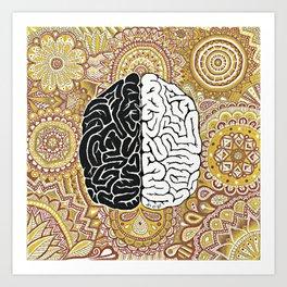 Big Brain ! Art Print