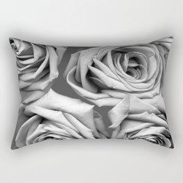 BW Roses Rectangular Pillow