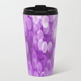 Bokeh Light In Violet #decor #society6 #homedecor Travel Mug