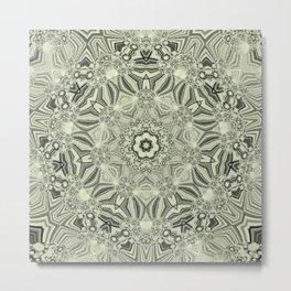 Lines-Balls-Mandalas Kaleidoscope2 Metal Print