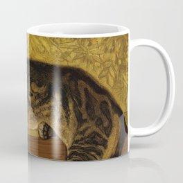"Théophile Steinlen ""Cat on a Balustrade"" Coffee Mug"