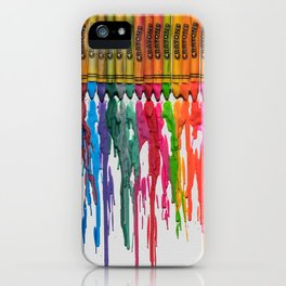 Crayons #3 iPhone Case