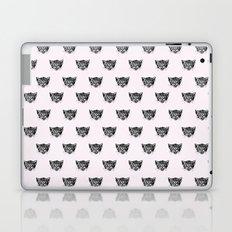 Polka Cat Laptop & iPad Skin