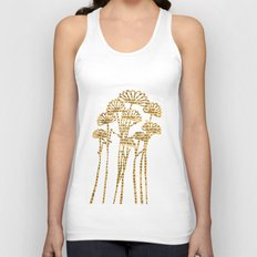 PAPERCUT FLOWER 2 Unisex Tank Top