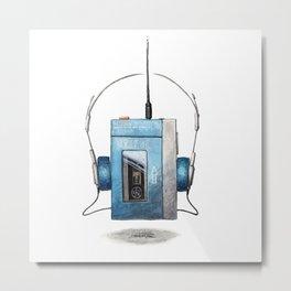 Walkman Metal Print