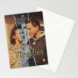 Cake & Fireflies Stationery Cards