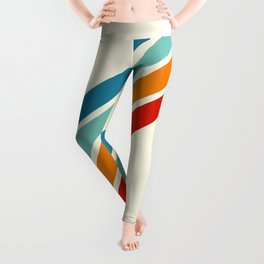 Alator - Classic 70s Retro Summer Stripes Leggings