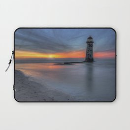 Sunset at the Lighthouse v3 Laptop Sleeve