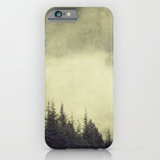 Foggy forest. Retro Slim Case iPhone 6s