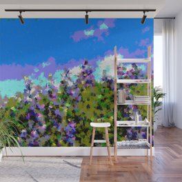 Lupines Wall Mural