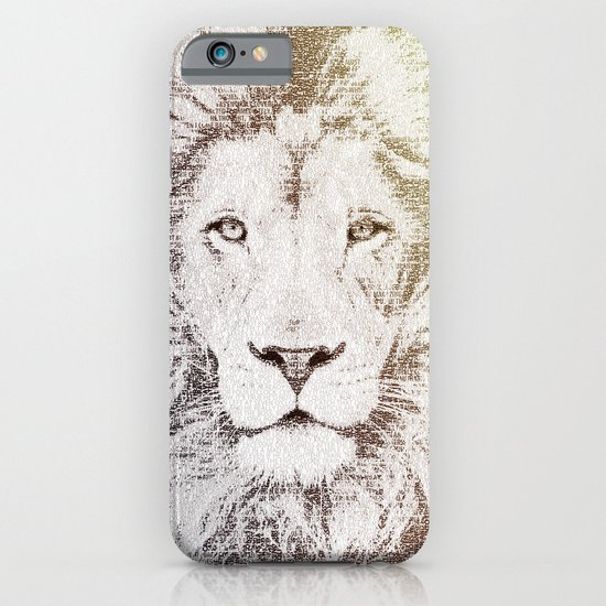 The Intellectual Lion iPhone & iPod Case