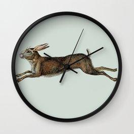 Vintage Rabbit Art Wall Clock