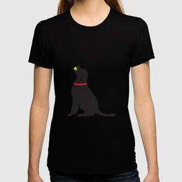 Cute Labrador Playing Fetch T-shirt