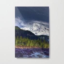 Mount Rainer Metal Print