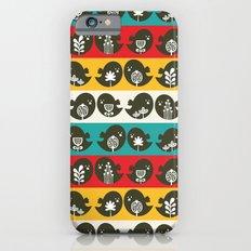 Birds in line. iPhone 6s Slim Case