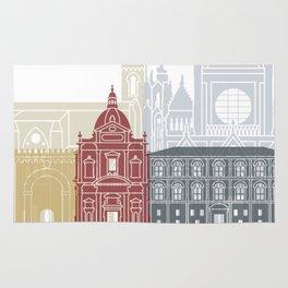 Siena skyline poster Rug