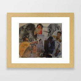 high  school dreaming Framed Art Print