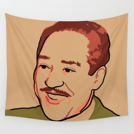 Langston Hughes Wall Tapestry