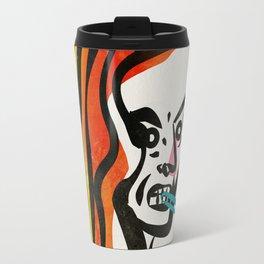 girl with a cigarette Travel Mug