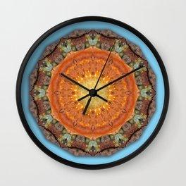 Colors of Rust 894_R / mandala-style-rust Wall Clock