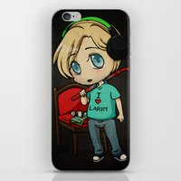 silent hill iPhone & iPod Skins featuring Silent Pewds by CrystallineColey