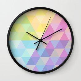 Fig. 027 Hexagon pattern Wall Clock