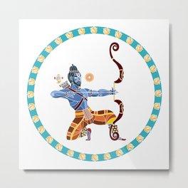 The Dance of Rama Metal Print